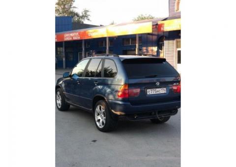 Продажа BMW X5, 2001 год в Челябинске