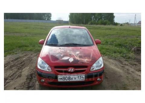 Продажа Hyundai Getz, 2008 год в Южноуральске