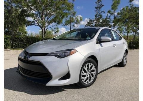 Toyota Corolla 2017 model, SE