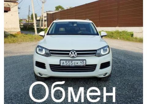 Продажа Volkswagen Touareg, 2011 год в Челябинске