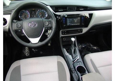 Toyota Corolla 2017 model